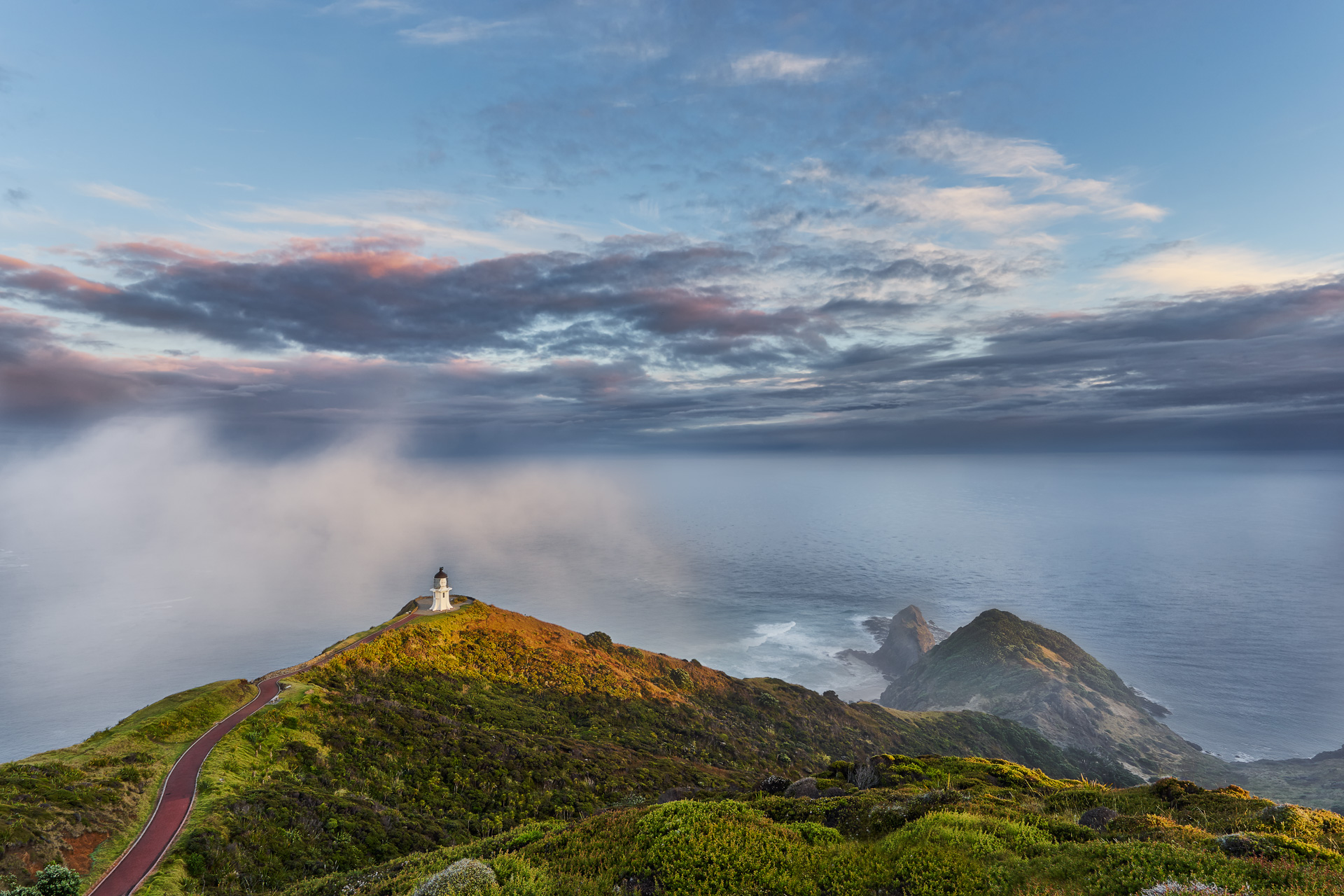 Cape Reinga is where Souls depart